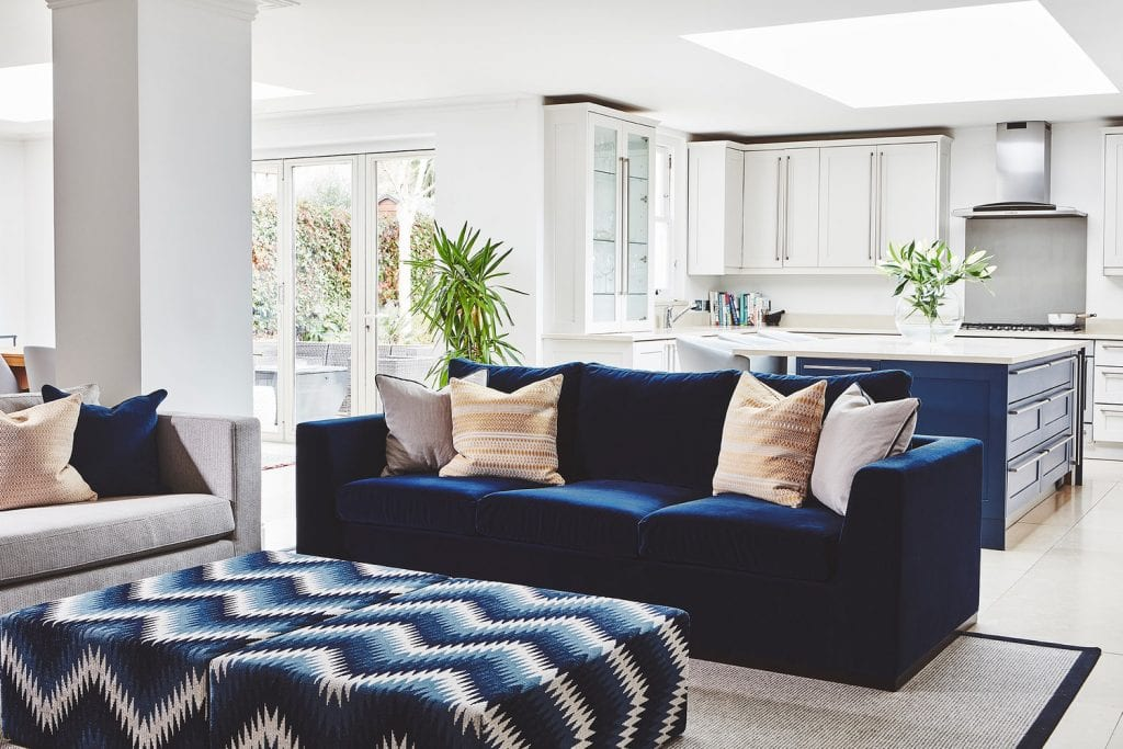 Redecorated family home in Balham with Stanza Interior Designers