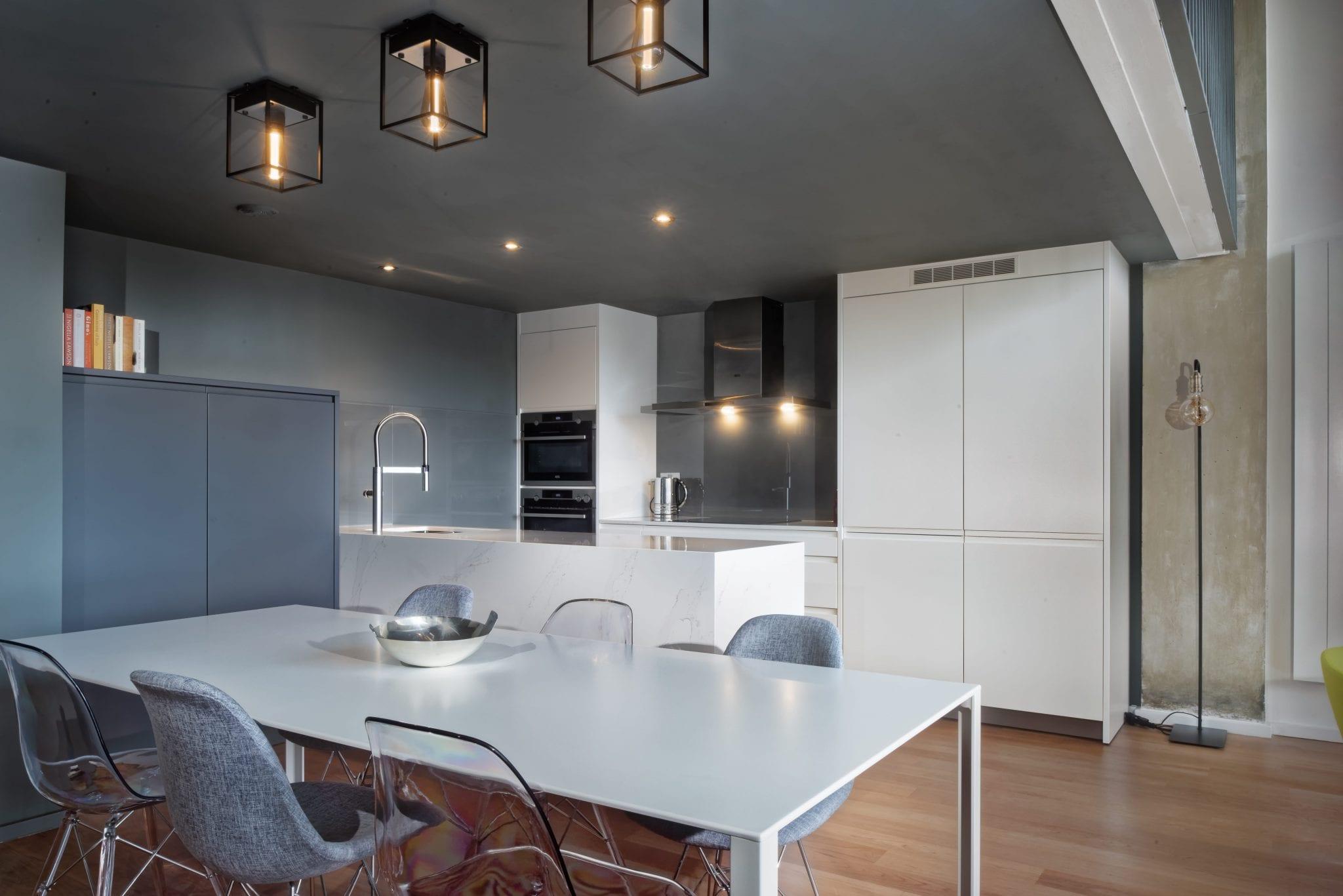 Modern North London loft gets new kitchen