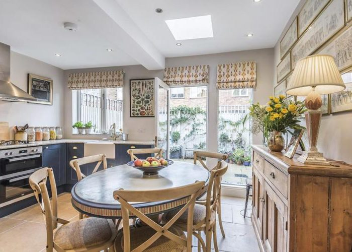 New kitchen and full home renovation and redecorating project in South West London