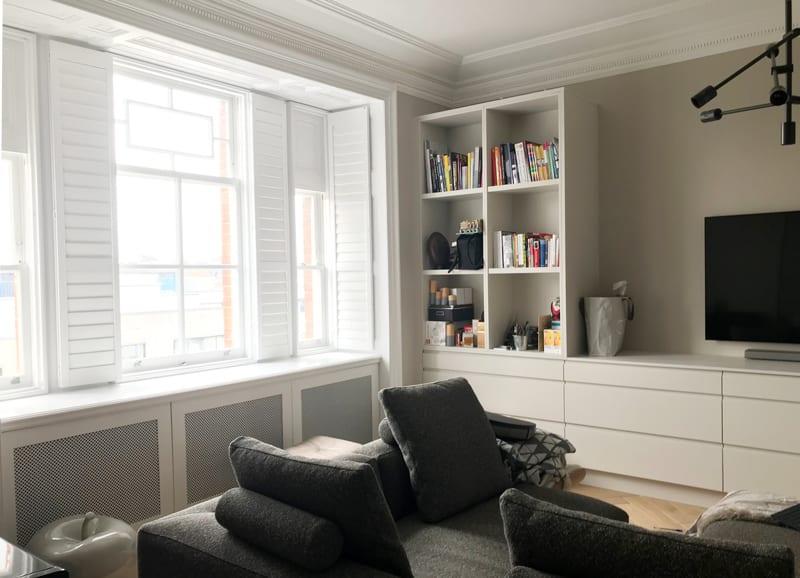 Flat refurbishment in Kensington